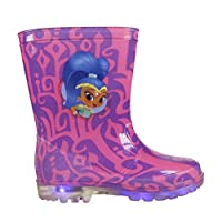 Shimmer & Shine PVC Rain Boots with LED Lights
