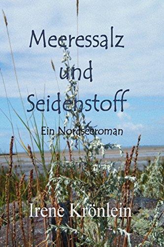 Contemporary Print Kleid (Meeressalz und Seidenstoff: Ein Nordseeroman)