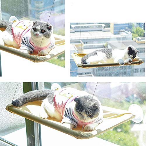 Can Support 15 kg, And Sunbathe For The Cat, A Cat Hammock With A Suction Cup, Can Be Mounted On Glass