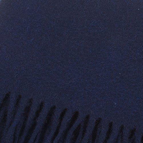 Lyle & Scott Écharpe 100% cachemire Tartan écossais Bleu - Bleu marine