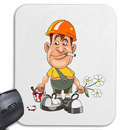 mousepad-mauspad-landschaftsgartner-bauarbeiter-maler-lackierer-arbeiter-bauhelfer-gartner-lifestyle
