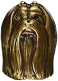 Maltese Dog Knocker - Bronze by Michael Healy Designs