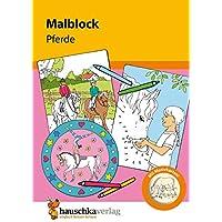 Malblock - Pferde (Malblöcke, Band 604)