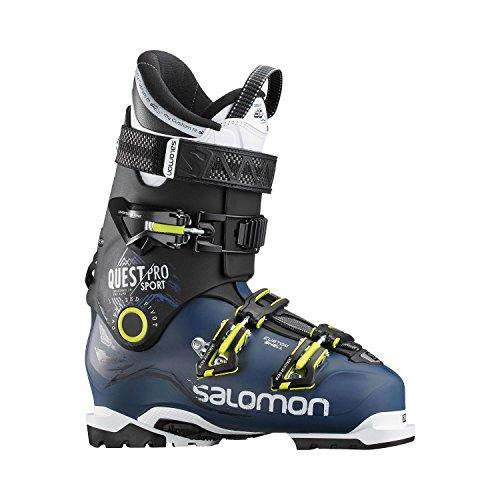 Salomon Herren Ski-Stiefel Quest Pro CS 100 Skistiefel, Blau/Schwarz/Grün, 28