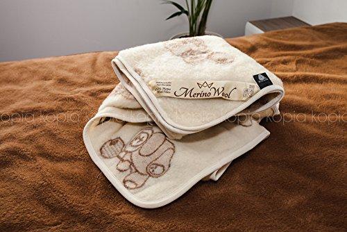 Merino wool coperta in lana merino bambino coperta 120 x 150 cm coperta del bambino, woolmarked. singolo coperta. regalo perfetto ! prodotto naturale