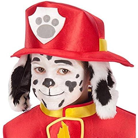 carnival toys 06131 elmo tessuto paw patrol pompiere marshall