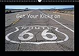 Get Your Kicks on Route 66 (Wandkalender 2019 DIN A3 quer): Die Route 66, auch Mother Road genannt, ist legendär. Auch heute noch kann man einen ... (Monatskalender, 14 Seiten ) (CALVENDO Orte)