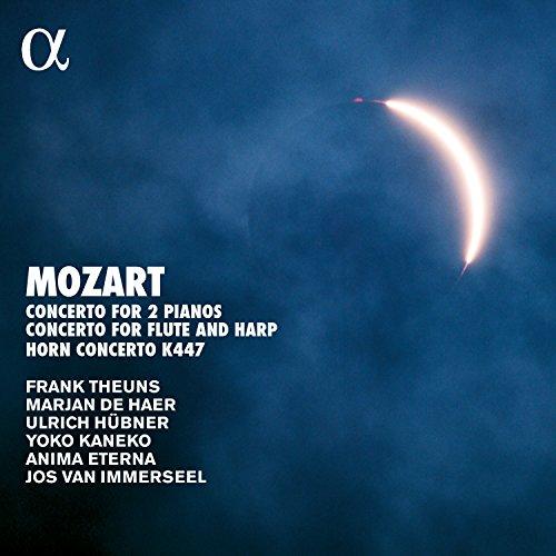 Mozart: Concertos - Konzert für zwei Klaviere KV 365 / Konzert für Flöte & Harfe KV 299 / Hornkonzert KV 447