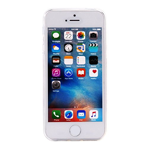 For IPHONE 5S/SE[COLORFUL TPU DTV2]Scratch-Proof Ultra Thin Rubber Gel TPU Soft Silicone Bumper Case Cover -DTPUV202 DTPUV210