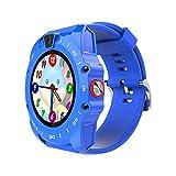 Markrom V19 - Smart watch per bambini con SIM GSM TF, player musica, cinturino in silicone,...