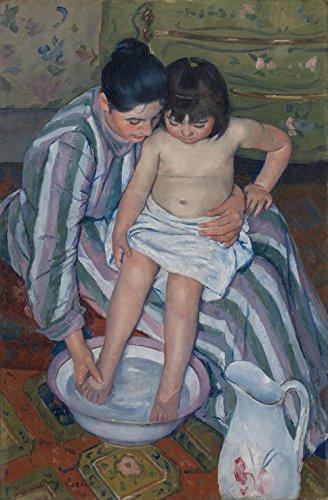 Das Museum Outlet-Cassatt-Die Kinder Bad, gespannte Leinwand Galerie verpackt. 40,6x 50,8cm - Kunstwerk Aufhänger Kinder