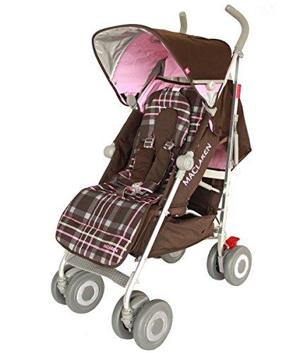 Comprar silla de paseo maclaren techno xt style set tartan for Oferta silla paseo maclaren