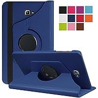 TopgadgetsUK Samsung Tab S 10.5 Pulgadas (SM-T800 / SM-T805) Funda 360 Rotating Stand Cover Cubierta de Cuero Premium PU para Galaxy Tab S 10.5 Pulgadas (Armada)