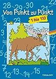 Von Punkt zu Punkt 1 bis 133: Malen nach Zahlen ab 7 Jahren