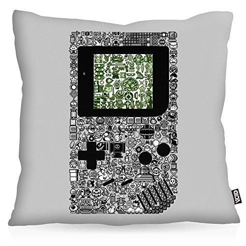 VOID 8-Bit Game Kissenbezug Kissenhülle Outdoor Indoor pixel boy, Kissen Größe:40 x 40 cm