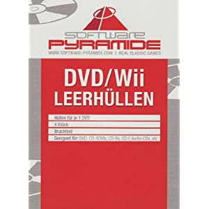 Wii-Leerhüllen 4er-Pack weiß [Software Pyramide]