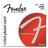 Fender Nickel Plated Steel Mandolin Light Strings 11-40 Loop End