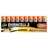 Duracell Plus Power Batterie AA (MN1500/LR06) 40er