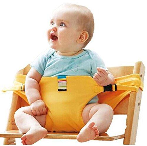 Hochstuhl Baby Sack Gurt Gürtel Safety Seat Gürtel Guard Strap for Baby (3-36 Monat), yellow