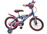 'Toimsa–876–Bicicletta per bambini–Spiderman–Ragazzo–16–5A 8anni