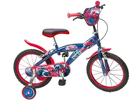 Toimsa - 876 - Vélo pour Enfant - Spiderman - Garçon - 16