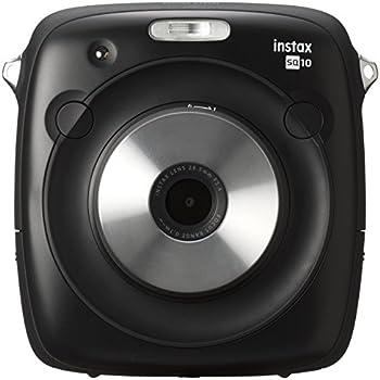 Fujifilm Instax SQUARE SQ 10 Hybride Sofortbildkamera schwarz
