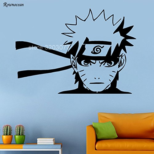 Manga Salbei Cartoon Wandaufkleber Vinyl Dekoration Jungen Zimmer Kinder Schlafzimmer Abnehmbare Tapete Abziehbilder Hy13 L 80x57 cm ()