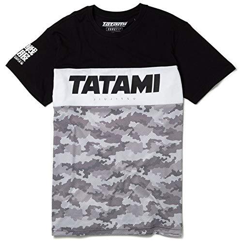 Tatami Fightwear Essential Tri Panel Camo T-Shirt - Men - BJJ Fitness MMA-m -