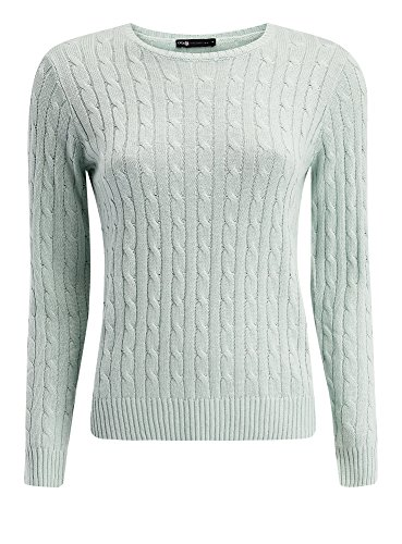 oodji-collection-womens-cable-knit-pullover-green-uk-12-eu-42-l
