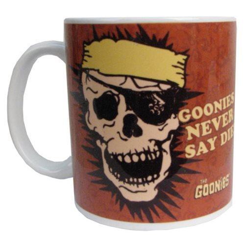 The Goonies Skull Never Say Die Durable Mug