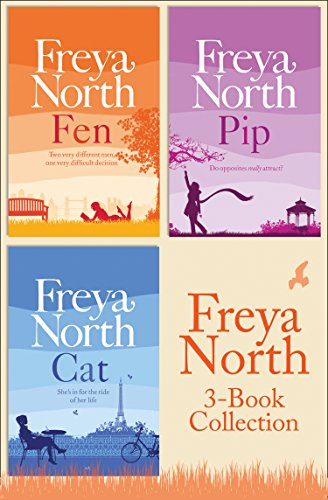Freya North 3-Book Collection: Cat, Fen, Pip (English Edition)