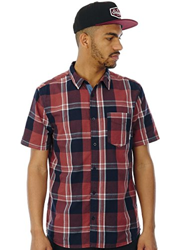 Element Kurzarm T-Shirt Deschutes Marsala Rot