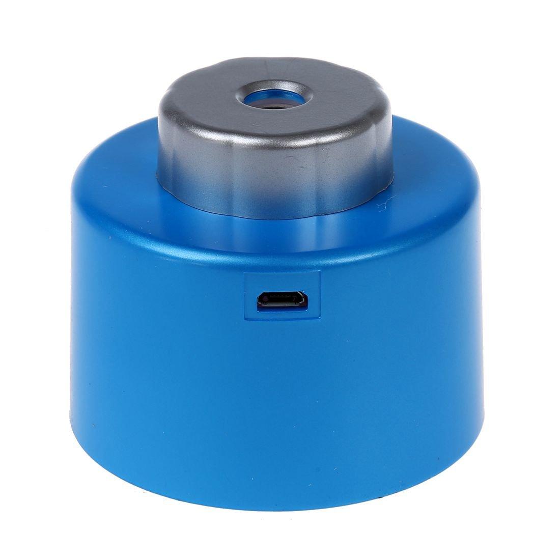 Mini Portatil Botella Casquillo Humidificador de Aire con el Cable USB para el Ministerio del Interior R TOOGOO Color Azul