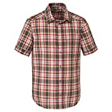 Jack Wolfskin FAIRFORD SHIRT MEN dark steel checks