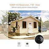 YI 1080P Überwachungskamera Aussen IP65 Wasserdicht Outdoor IP Kamera Full HD Bewegungserkennung Außenkamera Sicherheitskamera Zwei-Weg Audio Nachtsicht -Weiß - 4