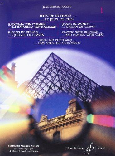 Jeux de Rythmes et Jeux de Clés volume 1 par Jollet Jean-Clement