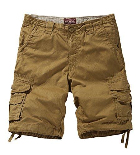 Match uomo pantaloncini cargo #s3612(3612 kaki(khaki),2xl)