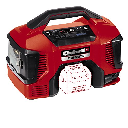 Einhell PRESSITO Power X-Change Akku Kompressor -