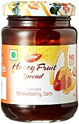 Dabur Honey Fruit Spreads, Strawberry, 170g