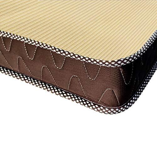 Comforto Folding 4-Inch Twin Size Foam Mattress, 72 x 48 x 4 Inches Image 4