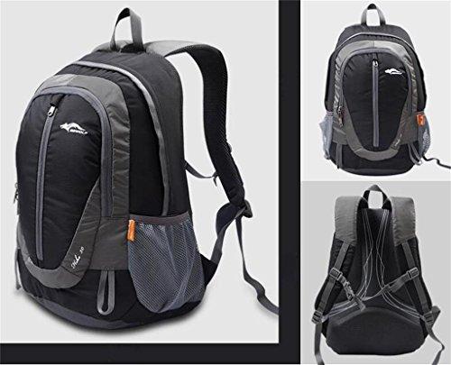 zaino trekking 2016 nuovi sacchetti di arrampicata all'aperto di grande capacità borsa a tracolla borsa da viaggio uomini e donne di sport borsa da viaggio Zaini da escursionismo ( Colore : Grigio , d Grigio