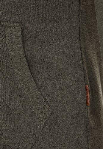 Naketano Female Zipped Jacket Dirty Brazzo Dirty Leaf Green Melange