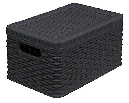 Aufbewahrungsbox Aus witterungsbeständigem und pflegeleichtem Kunststoff