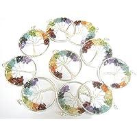 Schönes Set von zehn Baum des Lebens Edelstein Anhänger Crystal Healing Herren Frauen Geschenk Fashion Wicca Jewelry... preisvergleich bei billige-tabletten.eu