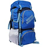 "POLE STAR "" ROCKY "" 60 Lt Royal Rucksack I Hiking backpack"