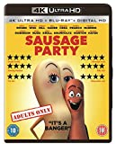 Sausage Party [4K Ultra HD Blu-ray] [2016] [Region Free]