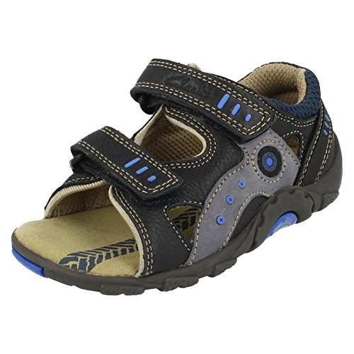 Clarks , Jungen Sandalen Blau blau 9 Child UK