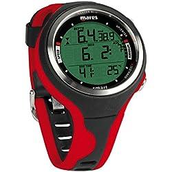Mares Smart Montre de plongée Taille BX, Negro/Rojo (BKRD)