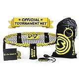 Spikeball Pro Kit (Tournament Edition)–inkl. stärker Spielen Net, neue Bälle können Spin, tragbar Ball Pumpe, Rucksack, Offizielle Servieren Line–AS SEEN ON Shark Tank TV