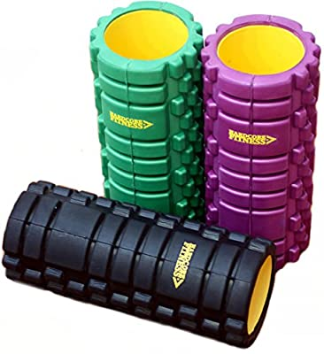 HardCore Muscle Foam Roller: Enjoy The Firmest, Deepest Massage From The Unique Gym Quality Extra Rigid Indestructi-Core. Get Fast Relief From Runners Knee, Back Pain, Sore Calves... Plus *FREE* Workout Guide E-Book Containing 20 Of The Best Powerful Trig